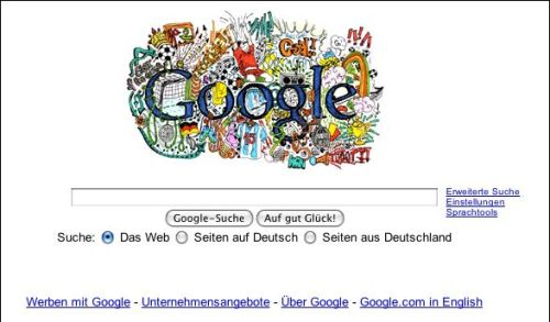 Google Germany for Euro 2008