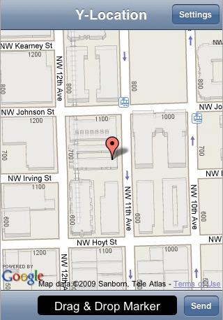 y-location