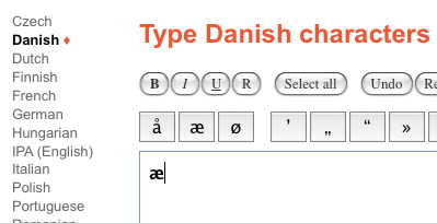 typeit-danish