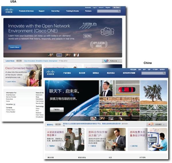 Cisco global consistency