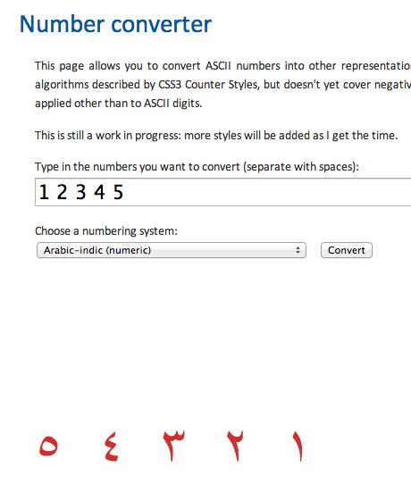 Number Converter