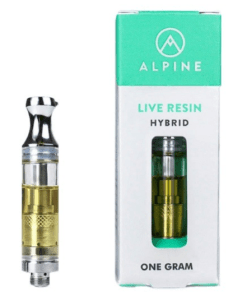Buy ALPINE Live Resin Vape Cartridge Online
