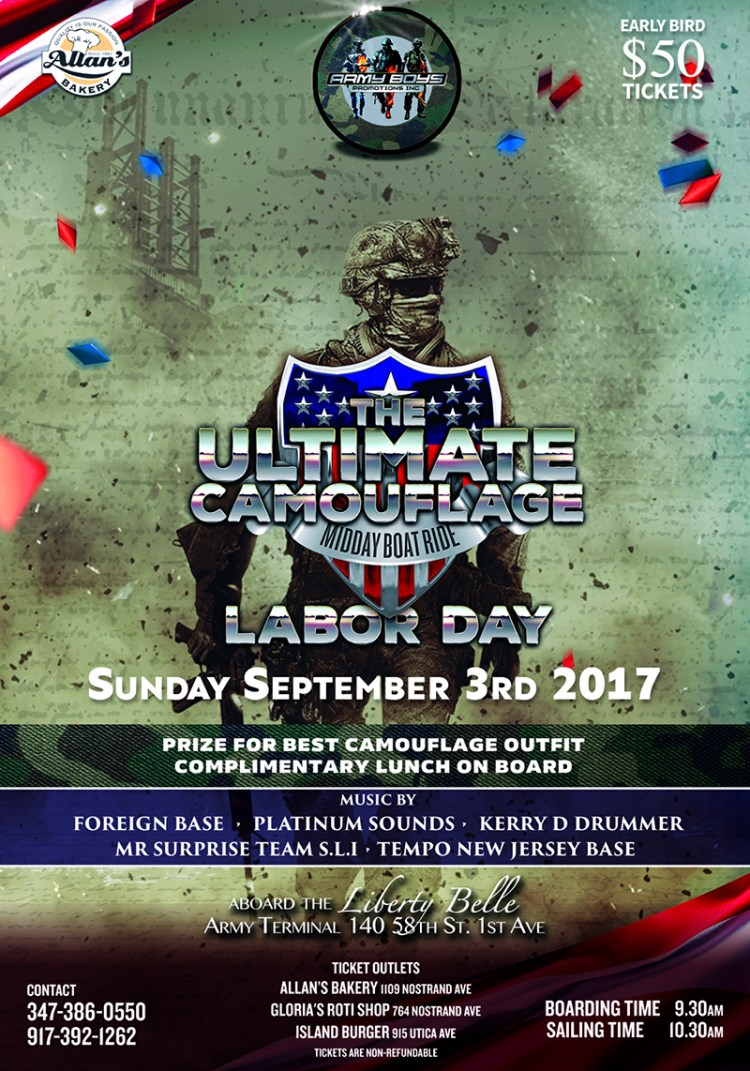 Camflouge Labor Day Weekend 2017