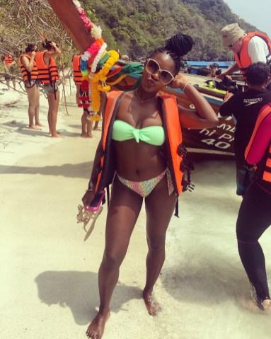 Maris at Phi Phi