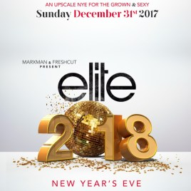 Elite NYE Canada 2018 Soca Party