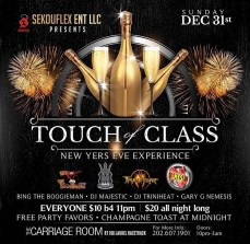 Touch of Class NYE SekouFlex Ent 2018