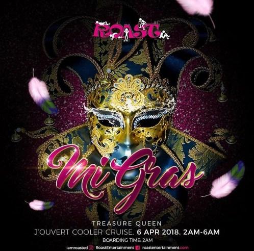 Roast Mi Gras Jamaica Carnival 2018