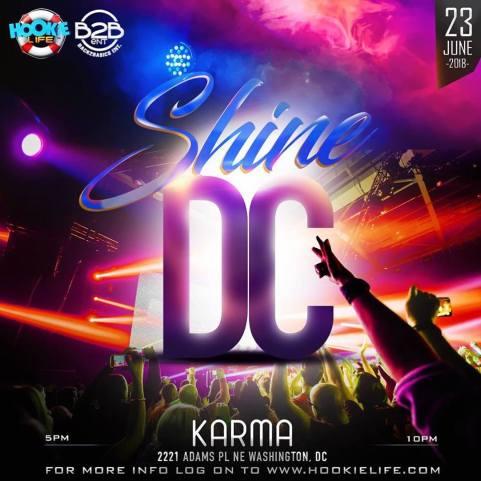 Shine DC Hookie Weekend 2018