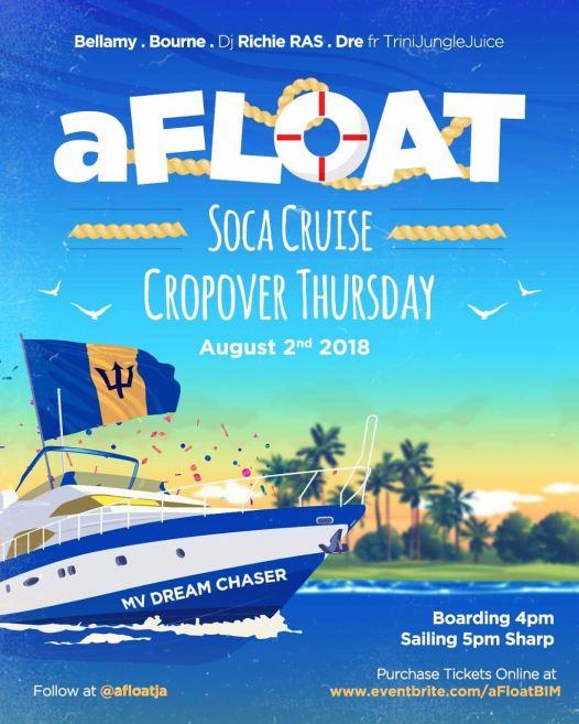 Afloat Soca Cruise - Crop Over 2018