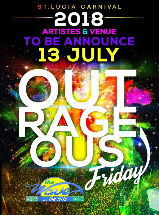 St Lucia Carnival 2018 Outrageous