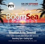 BoomSea Boatride NYC 2018