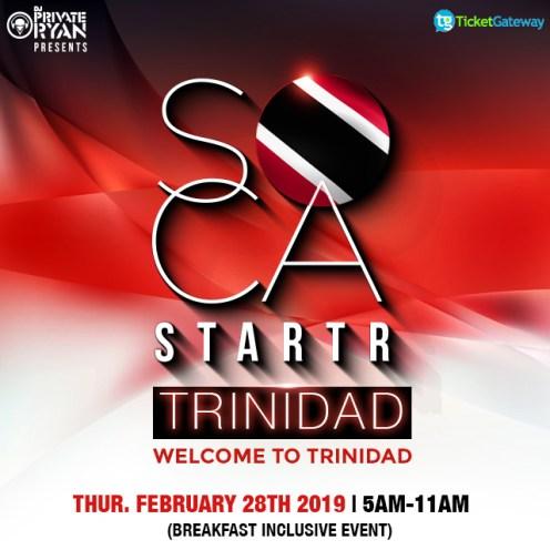 Soca starter Trinidad Carnival 2019