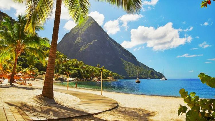 St.Lucia pitons