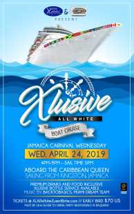 XClusive All White Jamaica Carnival 2019