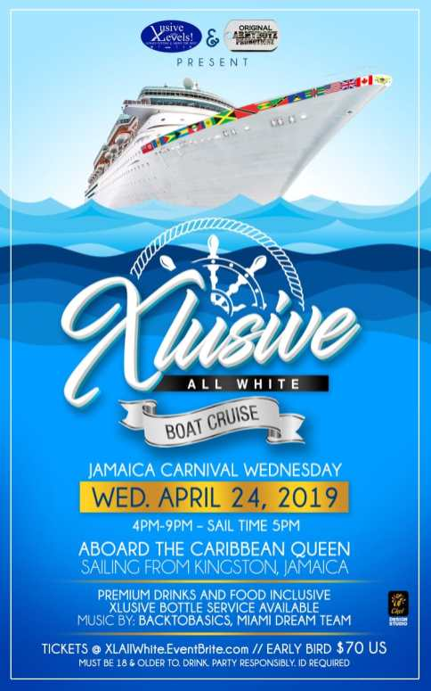 XClusive All White Jamaica Carnival 2019