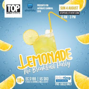 Antigua Carnival Lemonade 2019