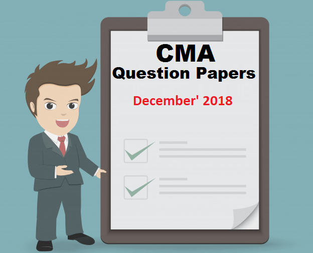 CMA Question Papers 17th Dec