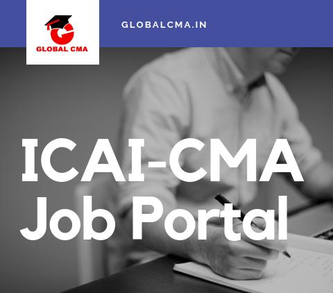 ICAI-CMA Job portal