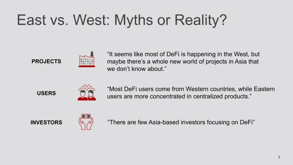 DeFi East Vs West