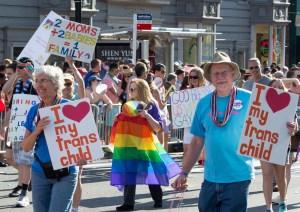 A PFLAG parade