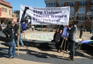 anti-rape protesters