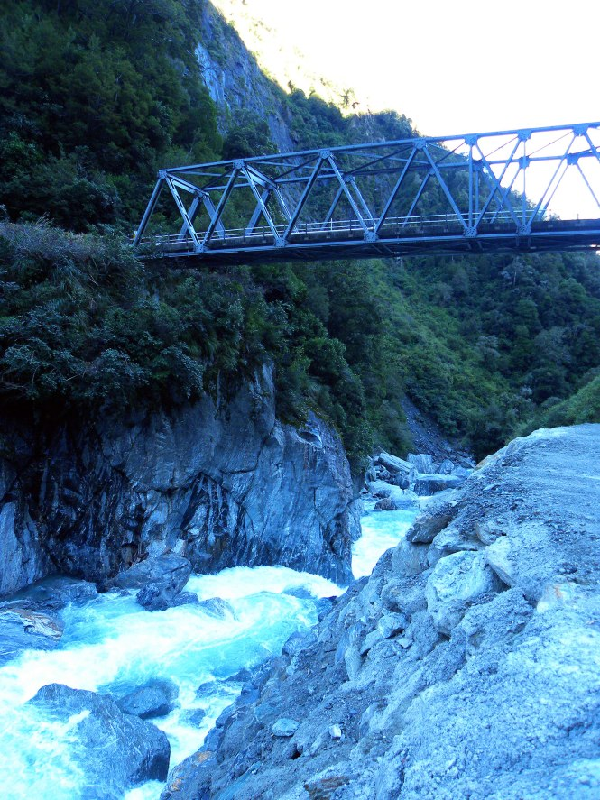 Haast Pass on our New Zealand road trip