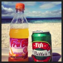 Drinks Around the World in South Sea Island, Fiji.