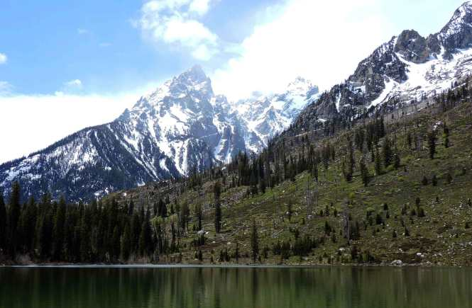 Cathedral Group peaks at String Lake