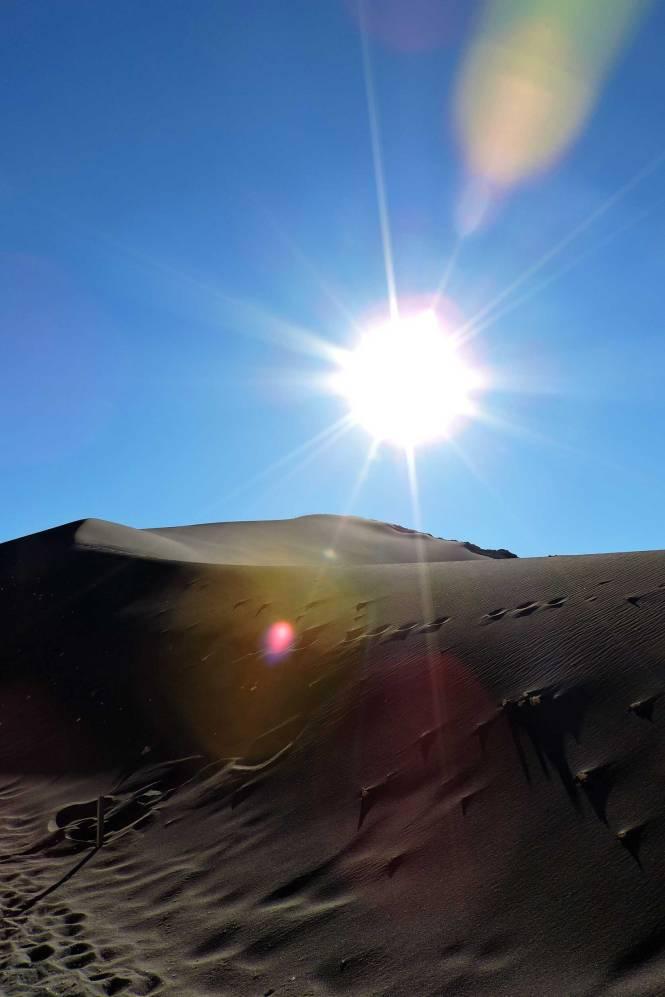 Duna Mayor in Atacama Desert