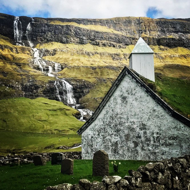 Saksun Chapel, Faroe Islands