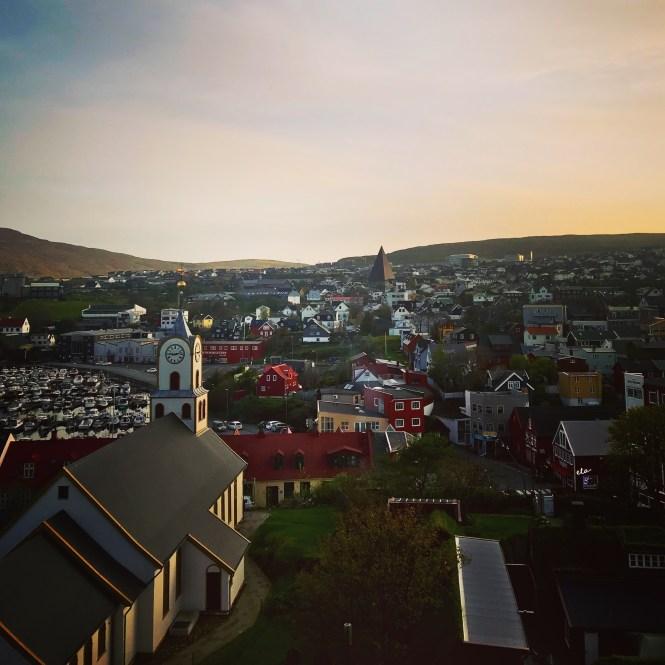 Torshavn sunset