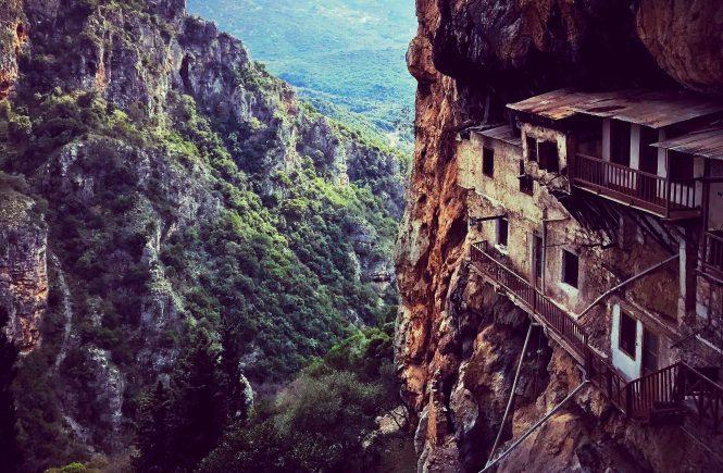 Monastery of Timios Prodromos in Stemnitsa, Greece