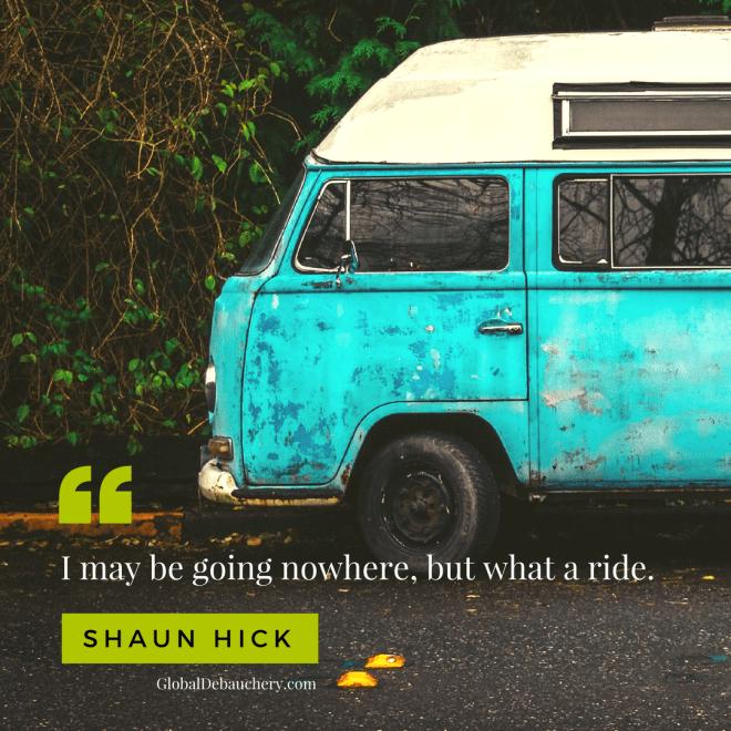 Shaun Hick travel quote