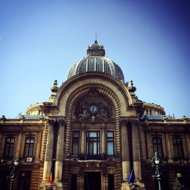 Palatul CEC, Bucharest, Romania