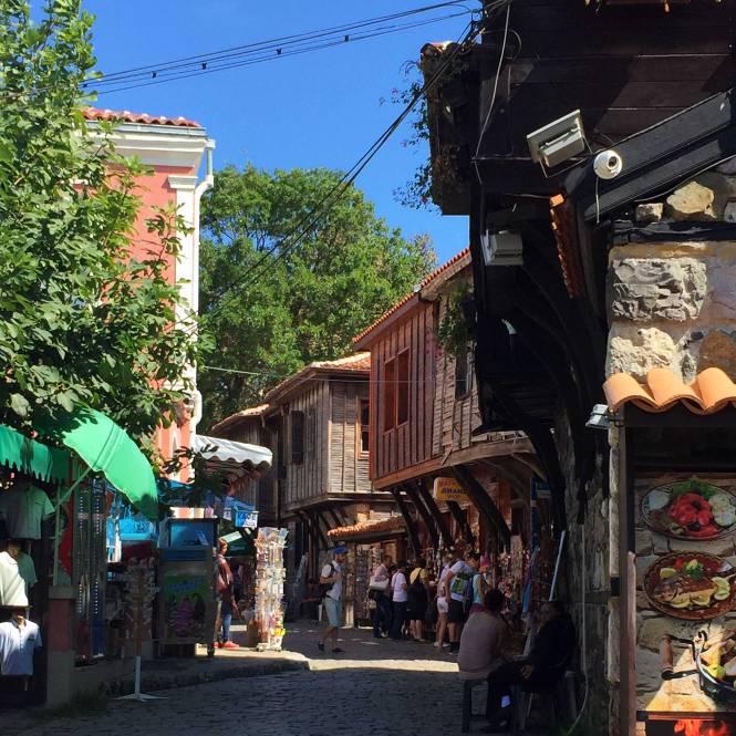 Downtown Sozopol street