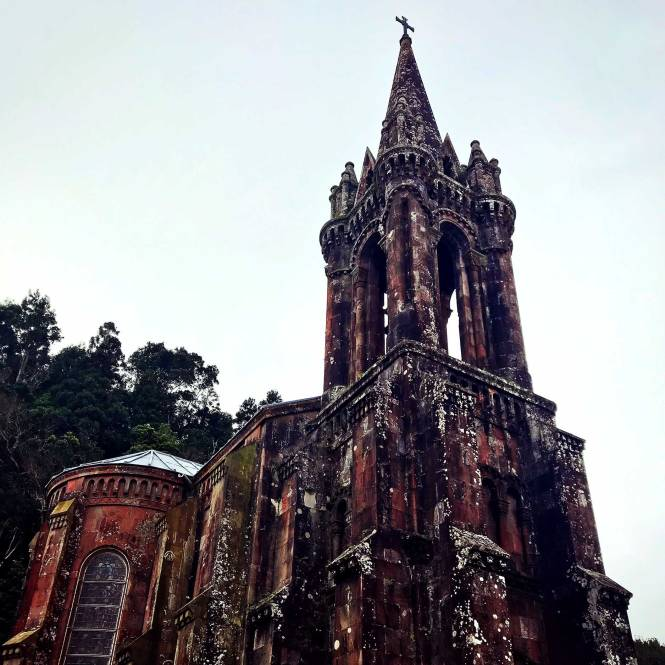 Chapel of Our Lady of Victories Church in Furnas, Sao Miguel