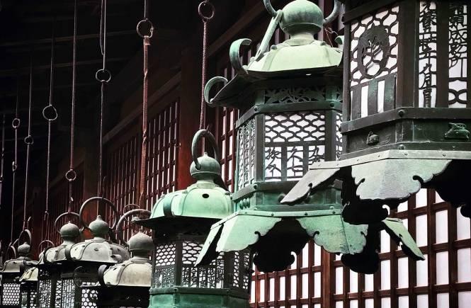 Fushimi Inari hanging lanterns