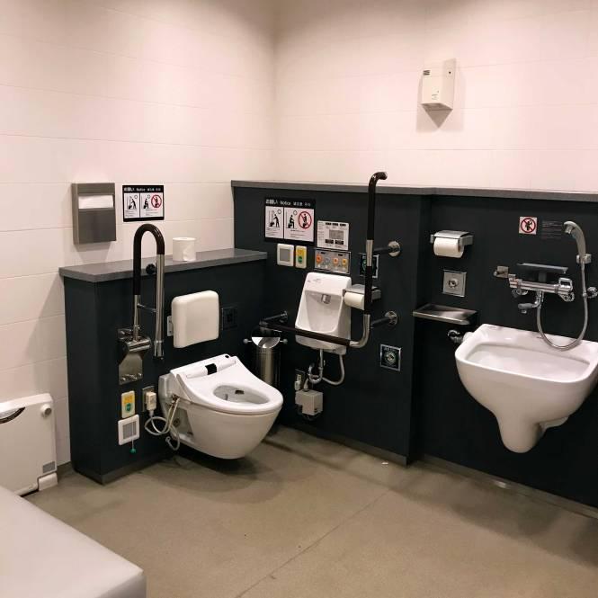 Mothering room in Tokyo Airport