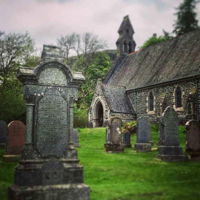 balquhidder parish church in scotland