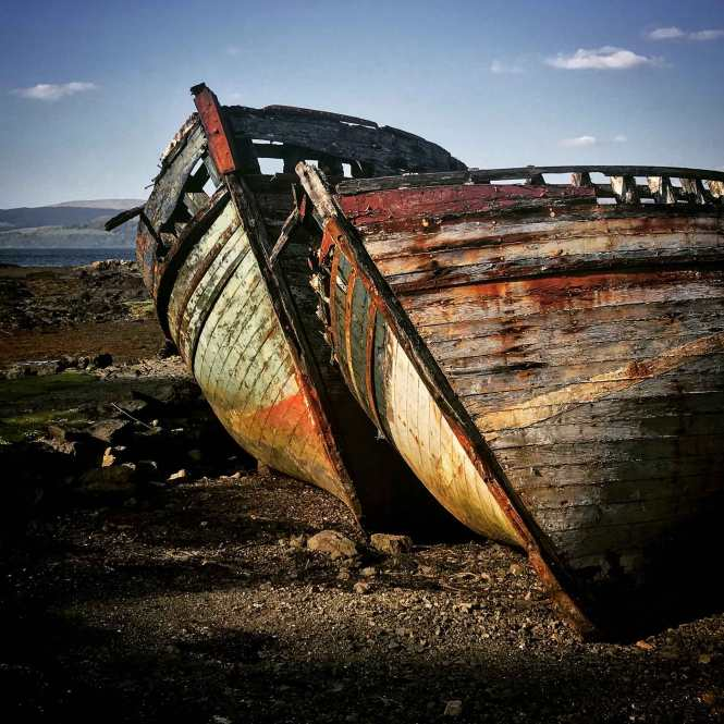 boats on isle of mull