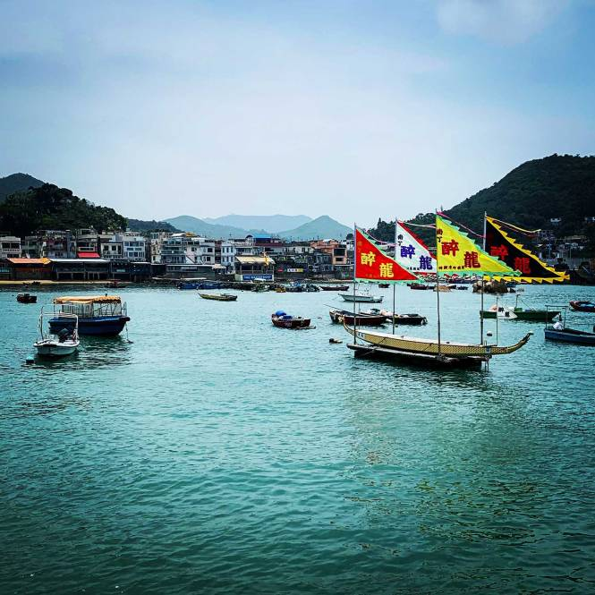 Last day of our Asian adventure on Lamma Island in Hong Kong