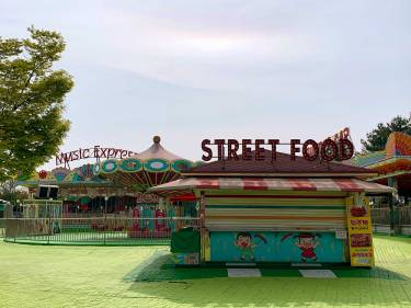 Carnival street food at the DMZ