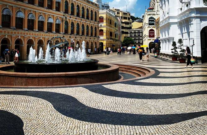 Sonado Square in Macau