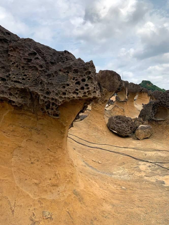 Yehliu Geopark in Taiwan
