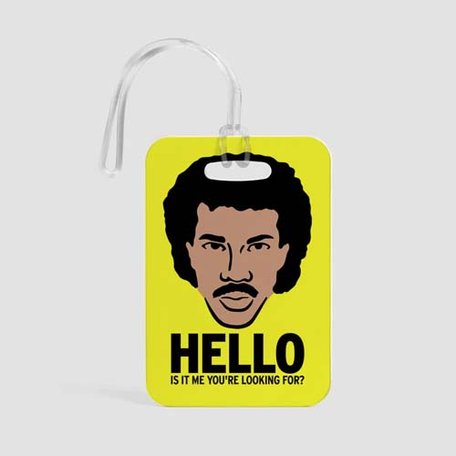 Lionel Richie Airportag luggage tag