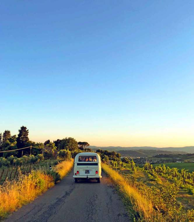 Road trip through Tuscany