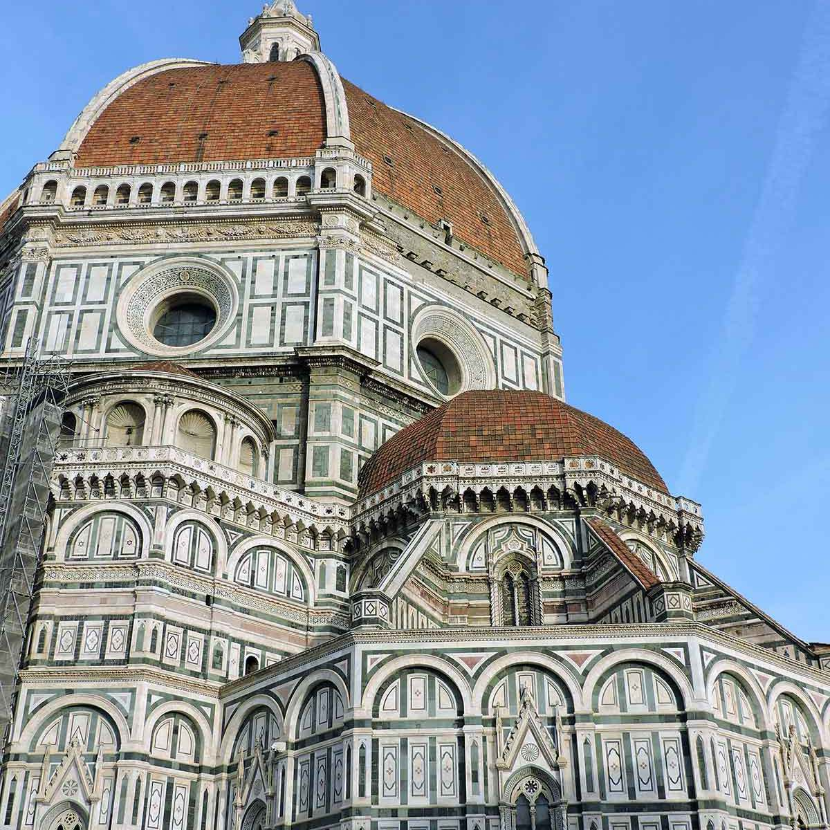 The Duomo dome in Florence, Italy