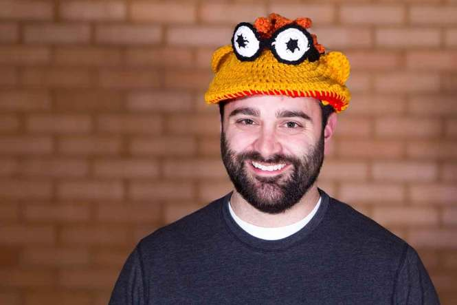 Travel the world with Knotty Knerd muppet hats
