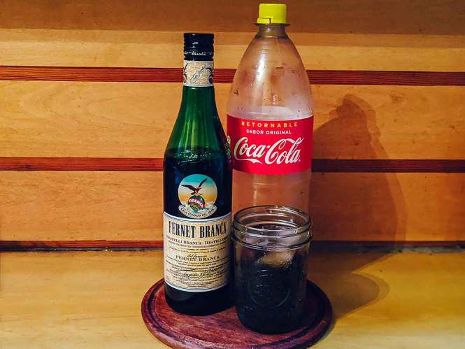 Fernet con coca for Cocktails From Around the World