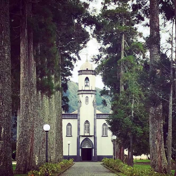 Church in Sete Cidades